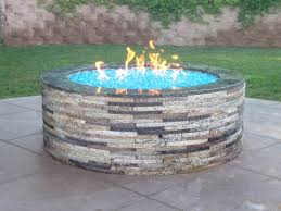 gas pit glass pit artistic gas pit glass rocks ideas above ground