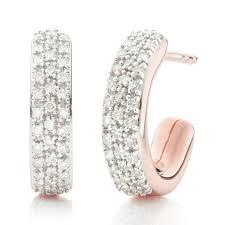 earrings diamond earrings gold hoop and stud earrings vinader
