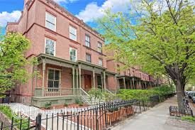 Modern Row House After Modern Makeover Historic Astor Row Townhouse Seeks 4 25m
