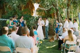 Backyard Wedding Decorations Ideas Budget Backyard Wedding Rustic Wedding Chic