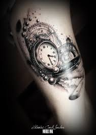 clock tattoo hustle butter and tattoo