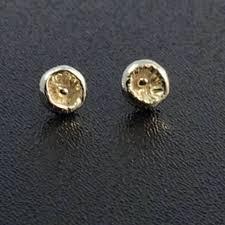 post style earrings small seed pod post style earrings in sterling silver