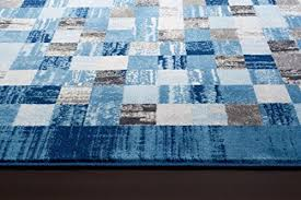 Large Modern Rug 2400 Blue 5 2 7 2 Area Rug Modern Carpet Large New Area Rugs Shop