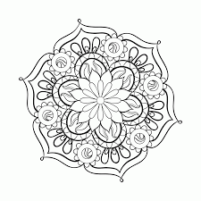 coloring pages for adults mandala coloring home