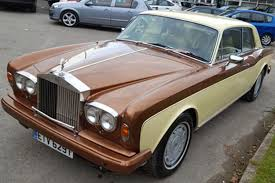 modified rolls royce 1979 rolls royce corniche being auctioned at barons auctions