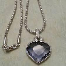 purple heart necklace images Swarovski jewelry oceanic crystal pendant purple heart poshmark jpg