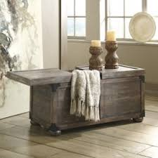 White Distressed Wood Coffee Table Remarkable Distressed Wood Trunk Coffee Table In Decorating Home