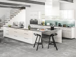 modern white and gray kitchen grey wood throughout inspiration