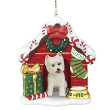 2009 annual westie ornament the danbury mint