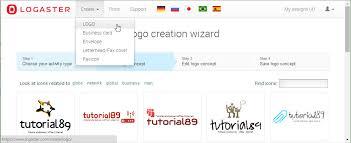 cara membuat kop surat dan logo cara mudah membuat logo favicon kartu nama kop surat dan lop