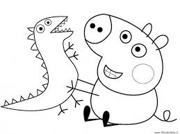 coloring pages peppa pig coloring pages birthday peppa pig