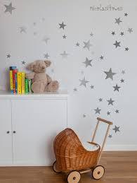 silver stars wall decal nursery silver stars wall stickers details lovely silver stars wall decal