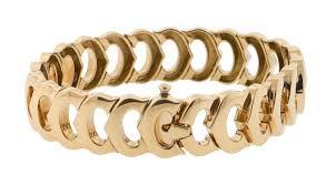 cartier jewelry bracelet images Cartier signature c collection bracelet 18k yellow gold new york jpg