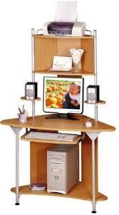 Corner Computer Desk With Shelves Corner Computer Desk With Printer Shelf Wonderful Projectiondesk