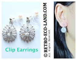 what are clip on earrings clip on earrings non pierced earrings archives comfortable