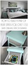Nightstand With Charging Station by Keeping It Simple How To Build A Pair Of Night Stands For Only