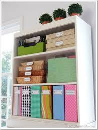 Organizing Ideas Colorful Magazine Files  Free Labels  Organizing