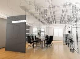 interior decoration the modern office interior design sketch the