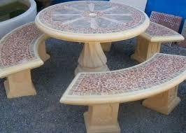 concrete tables for sale garden furniture precast concrete tables patio outdoor furniture
