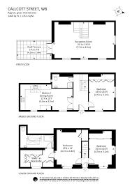 callcott street london w8 3 bed house w8 7su 2 650 000 for