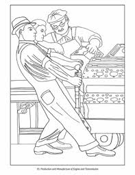 coloring pages diego rivera rivera the detroit industry murals coloring book