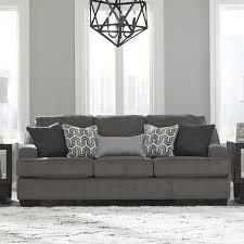 Ashley Furniture Gilmer Sofa in Gunmetal