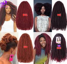 colors of marley hair afro kinky marley hair braids 18inch ombre kanekalon marley hair