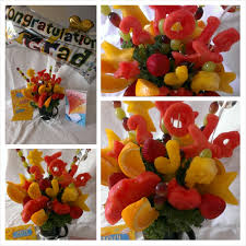 fruit bouque graduation fruit bouquet kabobs