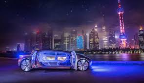 intelligent and connected mercedes benz at the ces in china