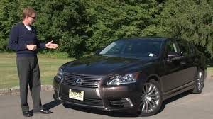 lexus sedan ls 2013 2013 lexus ls 460 awd drive time review with steve hammes youtube
