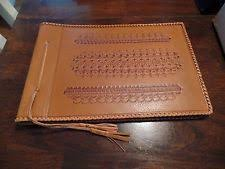 vintage leather photo album leather vintage photo albums boxes ebay