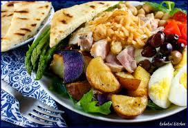 kahakai kitchen indian inspired ahi nicoise salad with curry