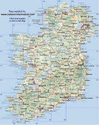 Back Road Maps Irish Wrecks On Line Road Map Of Ireland