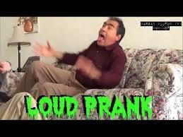 thanksgiving day loud up prank scaring my granpa reaction