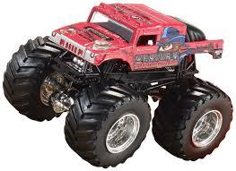 monster truck race track toy wheels monster jam brick wall breakdown track set shop