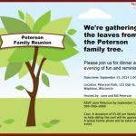 free printable family reunion invitation templates the 25 best