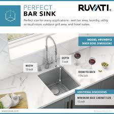 what is minimum base cabinet width 12 inch undermount bar prep kitchen sink 16 stainless