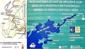 Camino De Santiago Map Camino Portugues U2013 Variante Espiritual Portugal Galicia