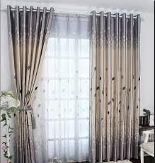 schöne vorhänge für wohnzimmer gardinen für wohnzimmer schöne optik