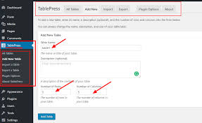 Wordpress Tables How To Add Tables In Wordpress 5 Best Wordpress Table Plugins