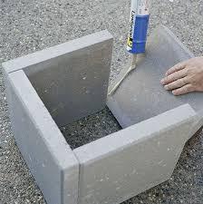 Concrete Planters Diy Modern Concrete Planter Curbly
