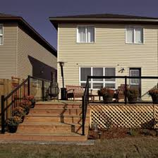 Installing A Banister Install A Railing With Glass Panels 1 Rona