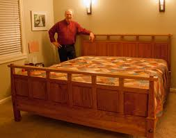 a frame and panel king bed for 2013 a mckinley u0027s