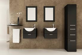 floating sink cabinets images about house bathroom floating sink