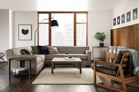 Mixing Leather And Fabric Sofas How To Pair A Sofa And Chair Room U0026 Board