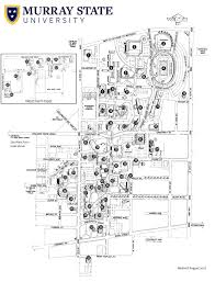 University Of Michigan Parking Map by Campus Map