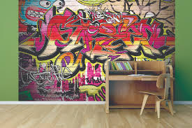city graffiti wallpaper mural for kids kool rooms for kool kids city graffiti wallpaper mural for creating cool feature wall for teenagers bedrooms
