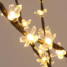 7ft led blossom tree 300leds pre lighted cherry tree