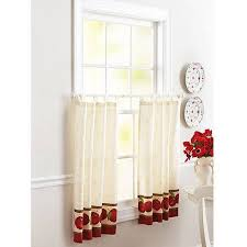 Kitchen Tier Curtains Better Homes And Gardens Apples Kitchen 36