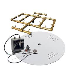 Gas Fire Pit Parts by Crossfire 24v Electronic Spark Ignition H Style Brass Gas Fire Pit